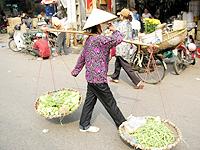 ハノイ市場